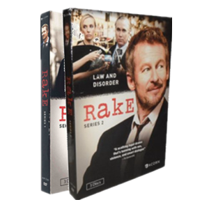 Rake Seasons 1-2 DVD Box Set