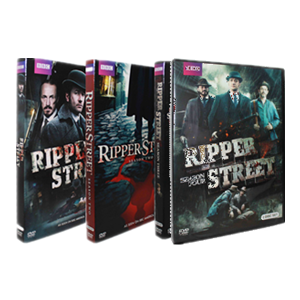 Ripper Street Seasons 1-4 DVD Box Set