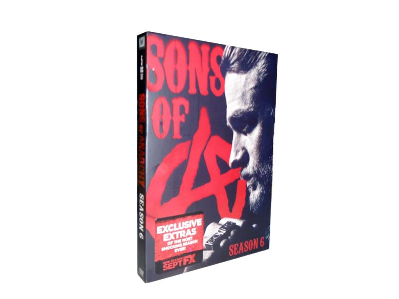 10 Set*Sons of anarchy Season 7 DVD Box Set