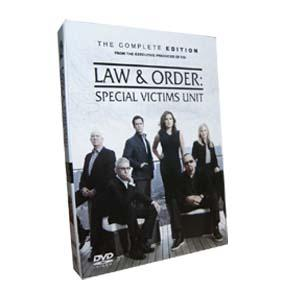 Law and Order : Special Victims Unit Season 13 DVD Boxset