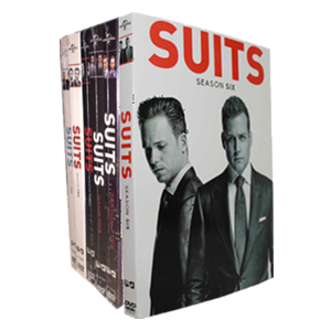 Suits Seasons 1-6 DVD Box Set