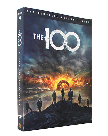 The 100 Season 4 DVD Box Set