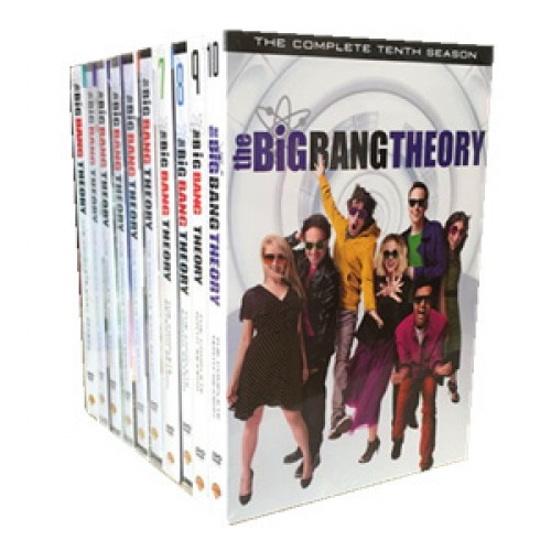 The Big Bang Theory Season 1-10 DVD Box Set