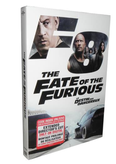 The Fate of the Furious 8 DVD Box Set