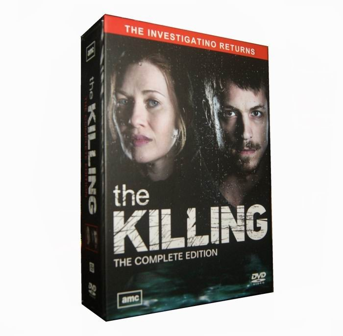 The Killing Seasons 1-4 DVD Box Set