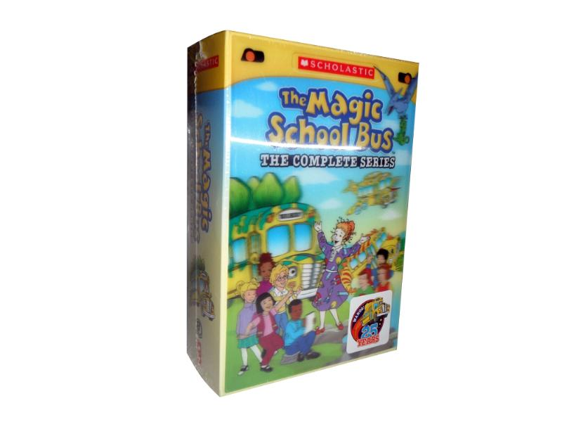 The Magic School Bus DVD Box Set For Sale