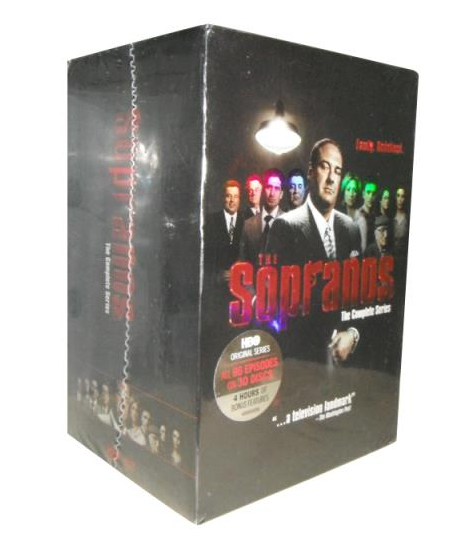 The Sopranos The Complete Series On DVD Box Set