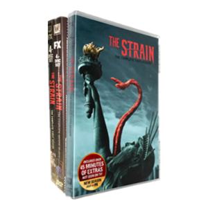 The Strain Seasons 1-3 DVD Box Set
