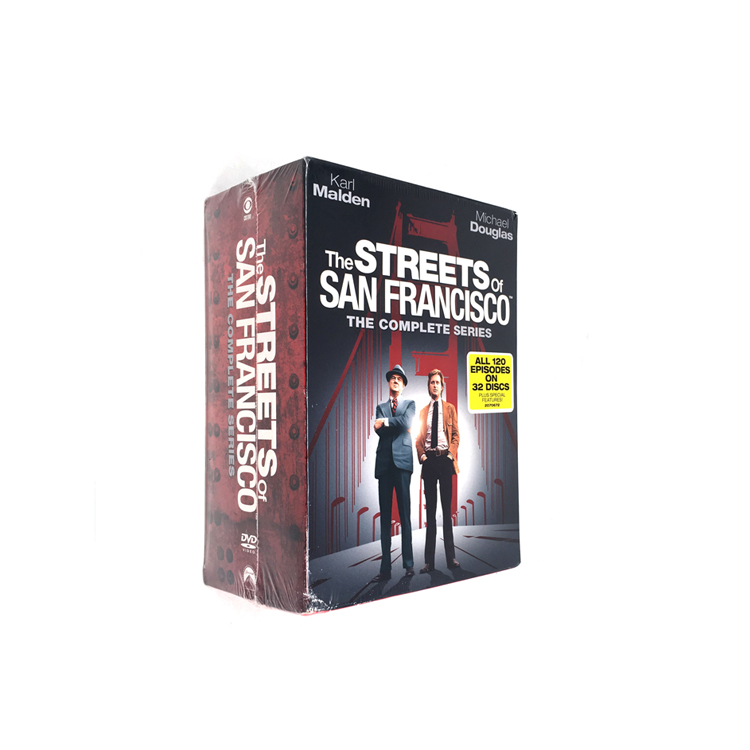 The Streets of San Francisco Complete Series DVD Box Set