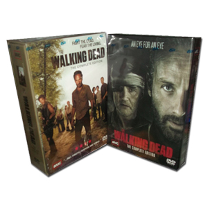 The Walking Dead Seasons 1-4 DVD Box Set