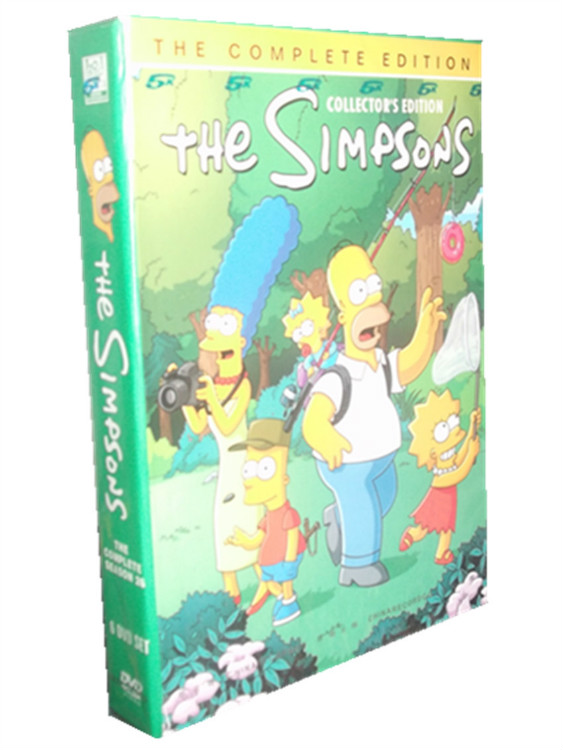 The Simpsons Season 26 DVD Box Set