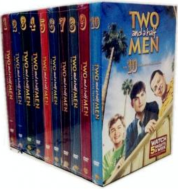 Two And A Half Men Seasons 1-11 DVD Box Set For Sale
