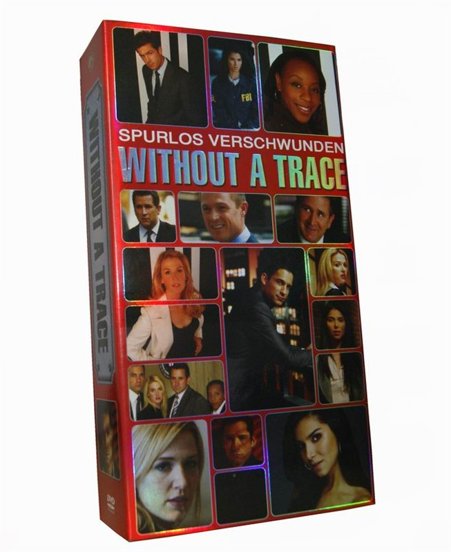 Without a Trace Seasons 1-7 DVD Box Set