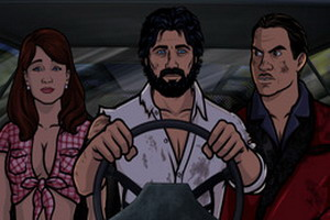 Archer Season 5 dvd-1