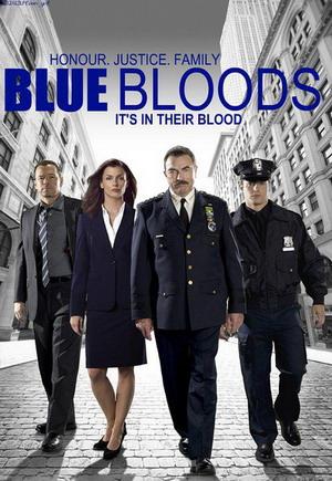 Blue Bloods Season 4 dvd poster