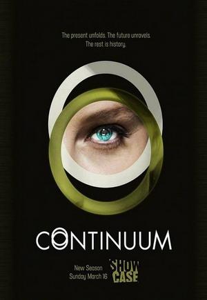 Continuum Season 3 dvd poster