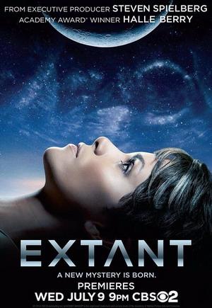 Extant Season 1 dvd poster