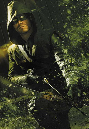 Arrow Season 3 dvd poster