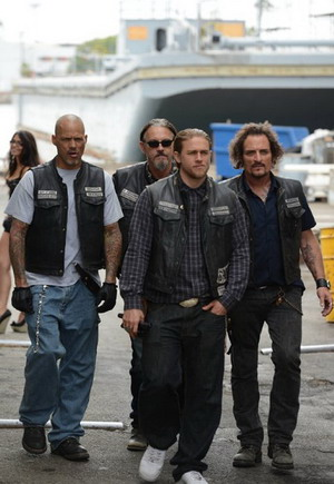 Sons of Anarchy Seasons 1-7 dvd poster