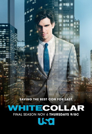 White Collar Seasons 1-6 dvd poster