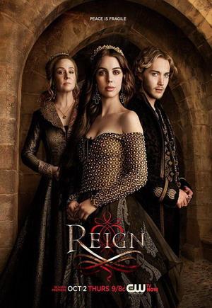 Reign Season 2 dvd poster