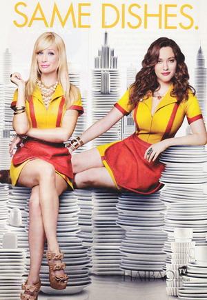 2 Broke Girls Season 4 DVD-1
