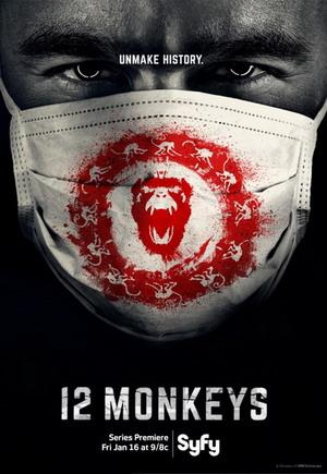 12 Monkeys Season 1 dvd poster