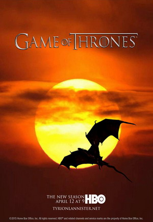 Game Of Thrones Season 5 dvd poster