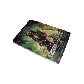 Pirates of the Caribbean Tetralogy DVD Box Set