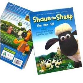 Shaun The Sheep Season 1 DVD Boxset