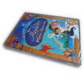 Aladdin 3-Aladdin and the King of Thieves DVD (Disney)