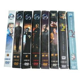 24 Hours Seasons 1-8 DVD Boxset