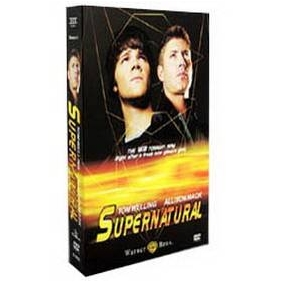 Supernatural Season 4 DVD Boxset