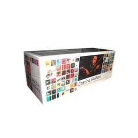 JASCHA HEIFETZ The Complete Album Collection 103CD + DVD Box Set
