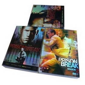 Prison Break Seasons 1-3 DVD Boxset