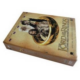 The Lord of The Rings DVD Boxset