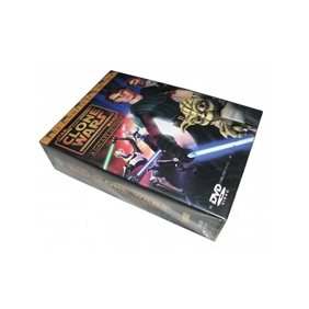 Star Wars The Clone Wars Seasons 1-3 DVD Boxset