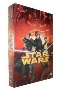 Star Wars Trilogy episode 1-6 DVD Box Set New Collection